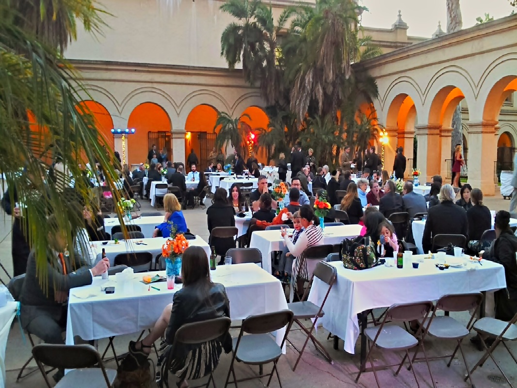 Wedding at Cado Del Prado in Balboa Park, San Diego Sound and Lighting