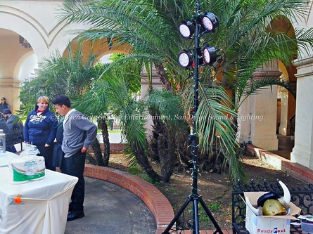 Color Wash Lighting, Event Lighting Decorations, San Diego Sound & Lighting