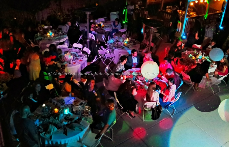 Lighting Rentals San Diego, Outdoor Event Lighting, Wedding Lighting Rental