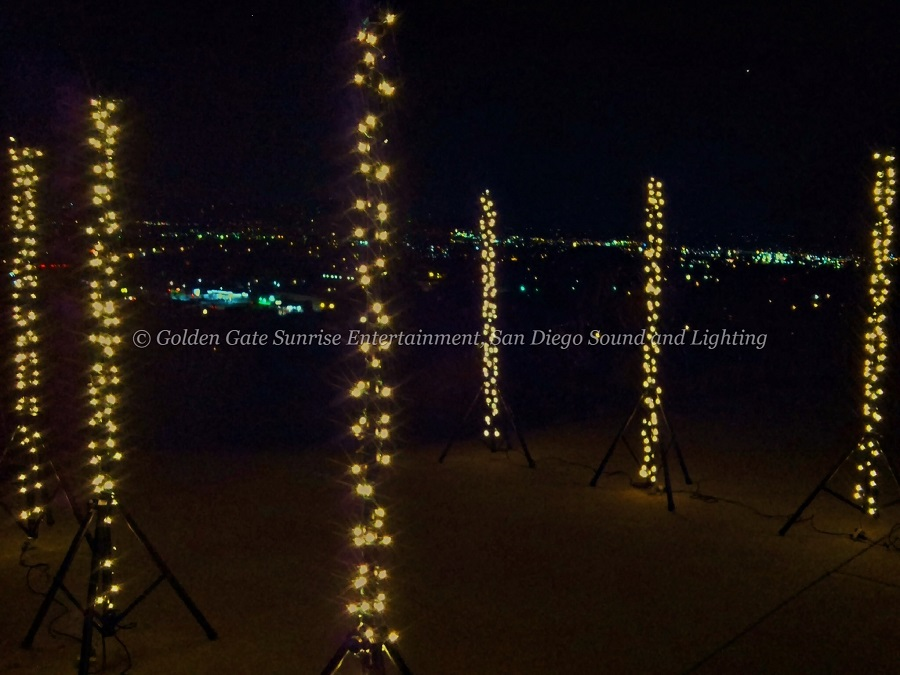 San Diego String Lighting Rental