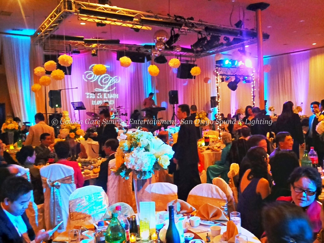 Color Wash Lighting Rentals, Rent LED Lighting, Rent Gobo Lighting San Diego